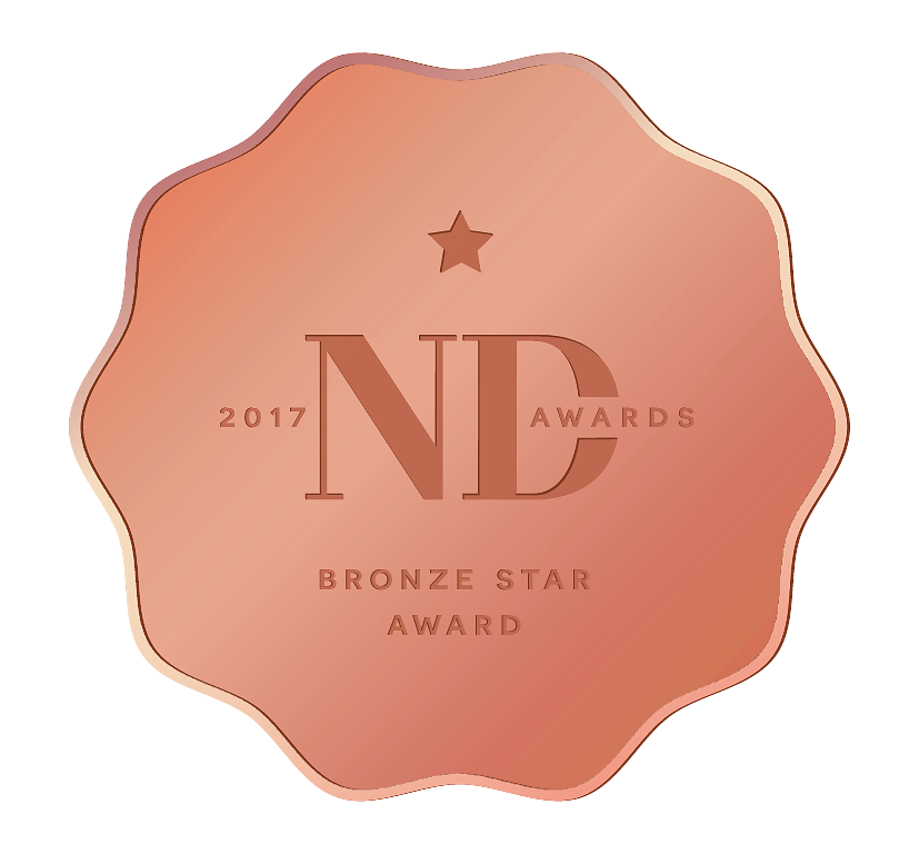 Médaille de Bronze aux ND Awards 2017
